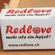Redlove-Verpackung